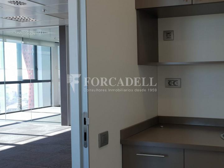 Oficina en alquiler en la Plaza Europa. Hospitalet de Llobregat. 12