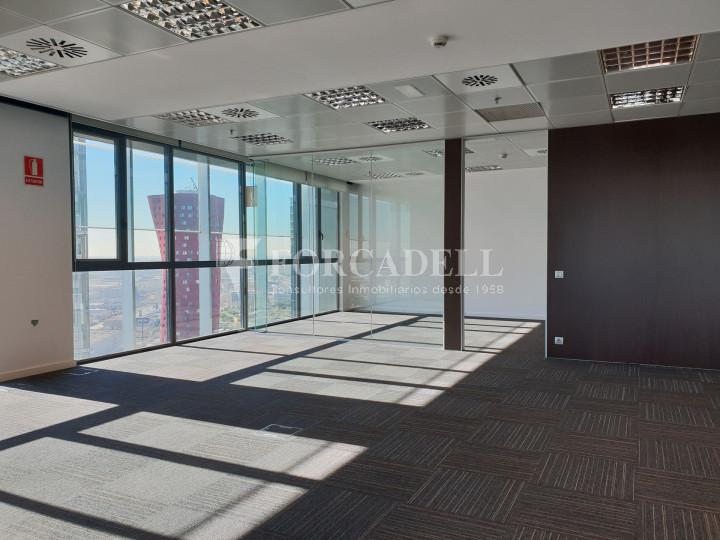 Oficina en alquiler en la Plaza Europa. Hospitalet de Llobregat. 3