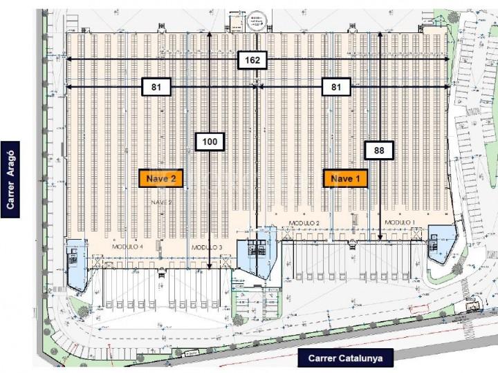 Nau logística en lloguer de 14.743 m² - Santa Perpètua de Mogoda, Barcelona 7
