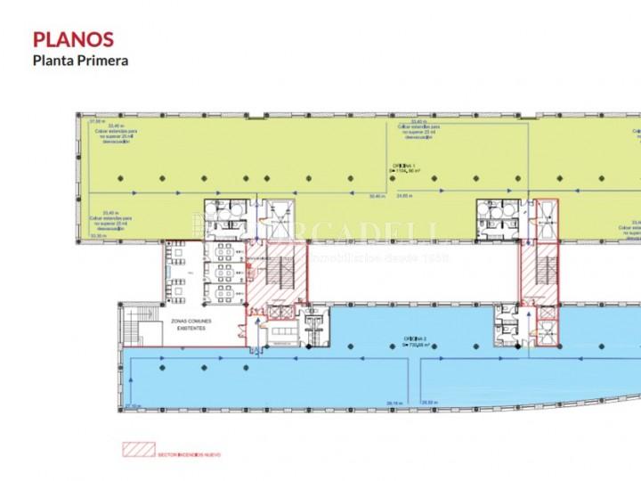Superfície en lloguer en edifici singular al Prat de Llobregat. (Barcelona) #7