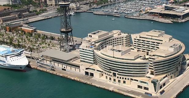Oficina en lloguer al World Trade Center. Barcelona. 2