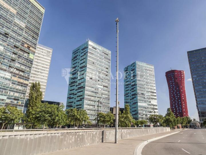 Oficina exterior, moderna i lluminosa a la Torre Llevant. Pg Zona Franca. Barcelona. 5