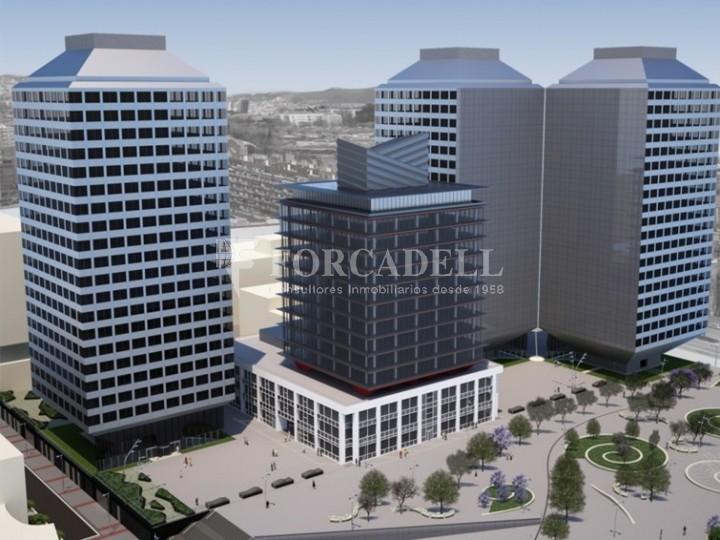 Oficina exterior, moderna i lluminosa a la Torre Llevant. Pg Zona Franca. Barcelona. 2
