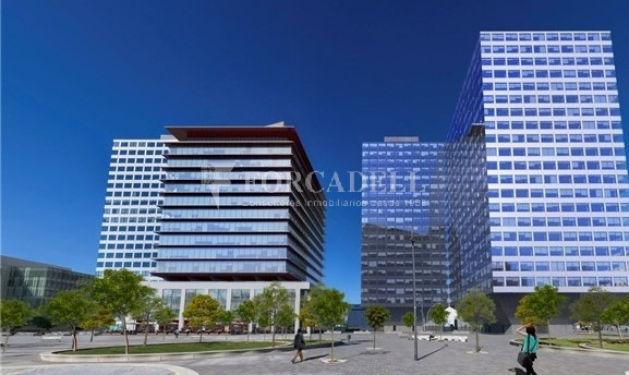Oficina exterior, moderna i lluminosa a la Torre Llevant. Pg Zona Franca. Barcelona. 1