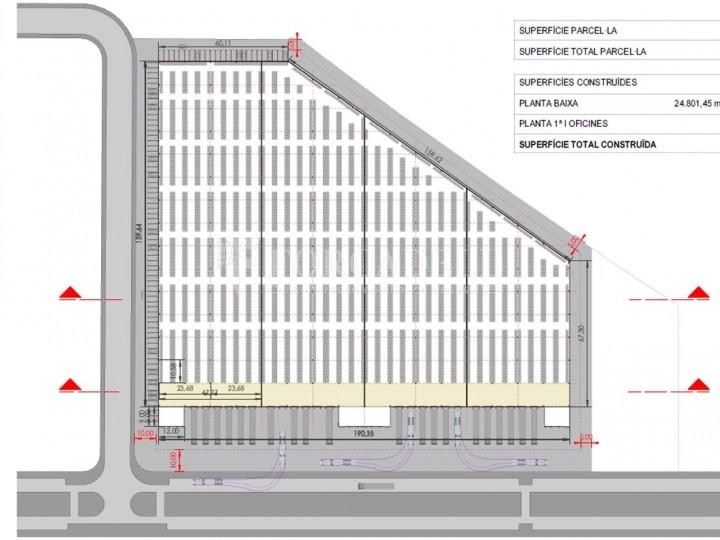 Nau logística en lloguer de 32.206 m² - la Bisbal del Penedès, Tarragona 2