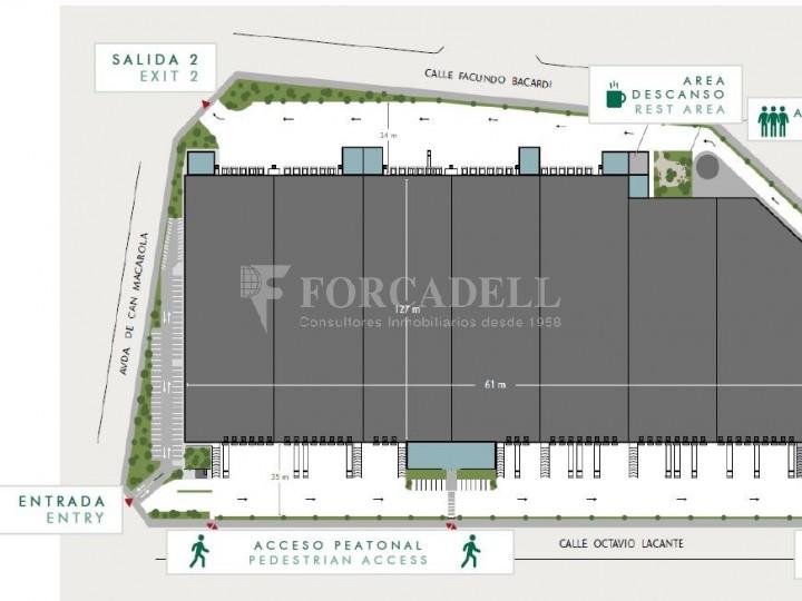 Nau logística en lloguer de 43.700 m² - Mollet del Vallès, Barcelona #4