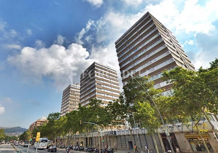 Oficina exterior i diàfana en lloguer. Av. Meridiana. Barcelona. #9