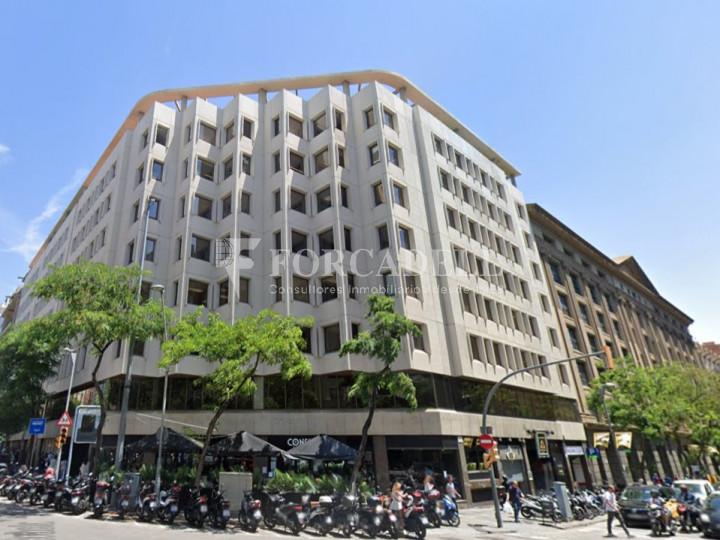 Oficina en lloguer situada a Travessera de Gràcia amb Aribau. Barcelona. 1