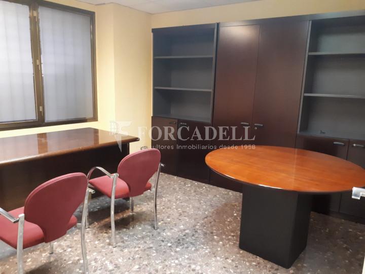 Oficina en lloguer situada a Travessera de Gràcia amb Aribau. Barcelona. 8