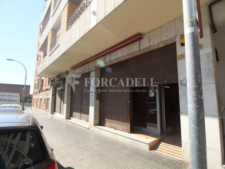 Commercial premises located in Josep Tapìoles street, 10 minutes walking from the Terrassa railway station. Barcelona. #14