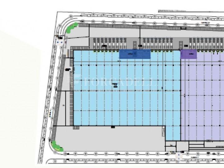 Plataforma logística en alquiler de 21.814  m²  - Pla de Santa Maria, Tarragona. 7