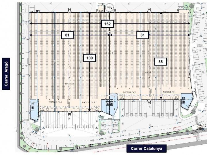 Nau logística en lloguer de 10.306 m² - Santa Perpètua de Mogoda, Barcelona 8