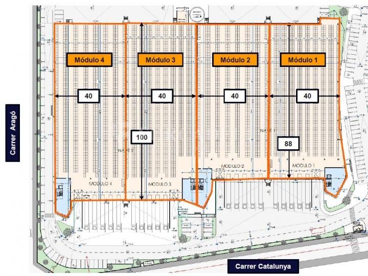 Nau logística en lloguer de 10.306 m² - Santa Perpètua de Mogoda, Barcelona 9