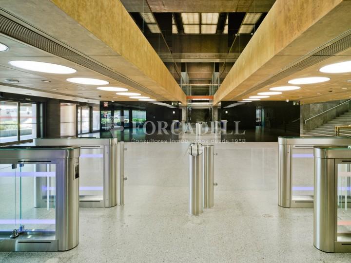 Oficina diàfana en lloguer al punt més emblemàtic d'AZCA. Madrid. #3