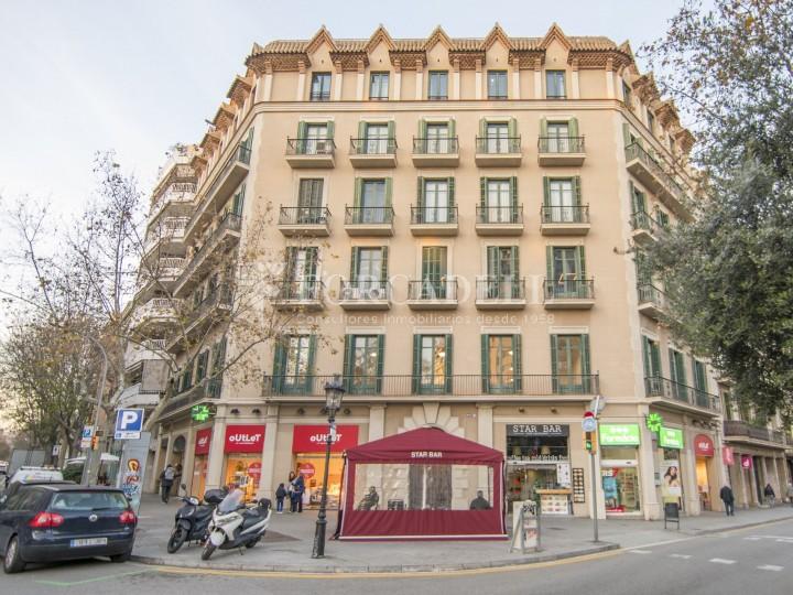 Oficina reformada de lloguer a la Gran Via de les Corts Catalanes, Barcelona 1