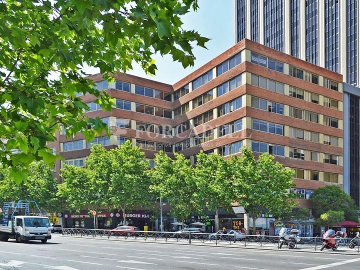 Oficina dúplex en lloguer al carrer Bravo de Murillo. Madrid. 1