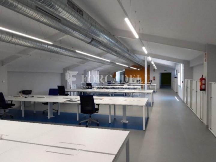 Edifici corporatiu implantat en lloguer al carrer Lérdida. Madrid. #10