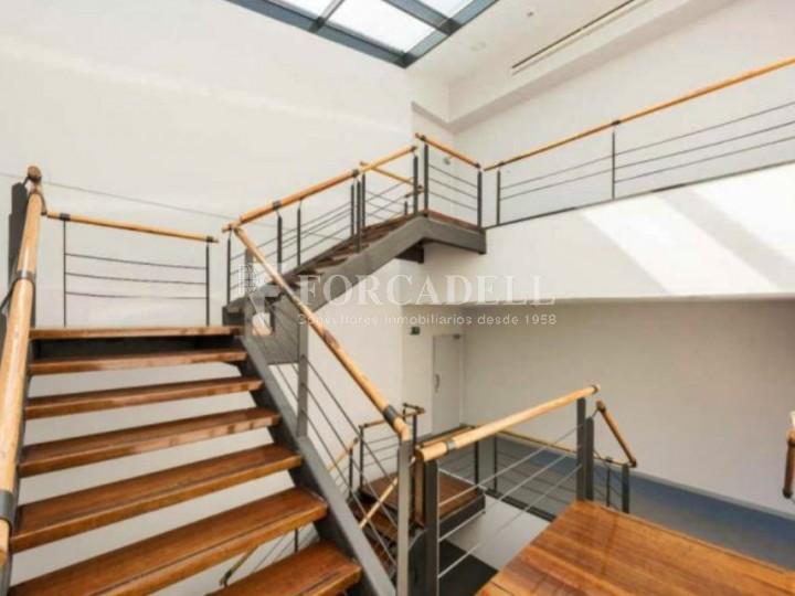 Edifici corporatiu implantat en lloguer al carrer Lérdida. Madrid. #3