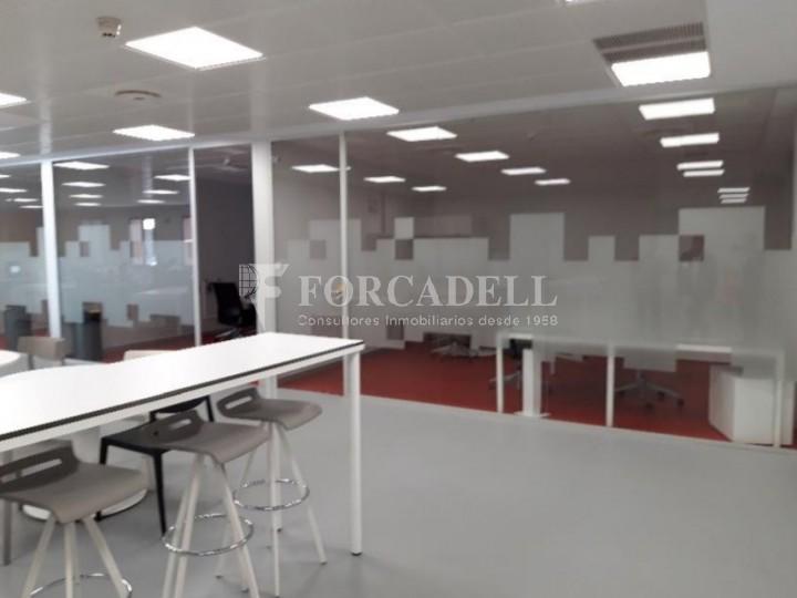 Edifici corporatiu implantat en lloguer al carrer Lérdida. Madrid. #8