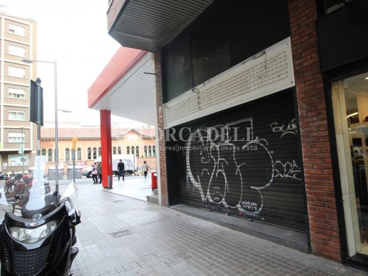 Local de lloguer al barri del Putxet i Farró, ubicat al carrer Craywinckel. Barcelona. #2