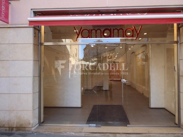 Local comercial a la zona prime de centre de vianants de Terrassa. Barcelona.  1