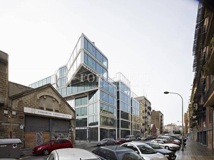 Oficina exterior i lluminosa en lloguer al districte de 22@. Barcelona. #1