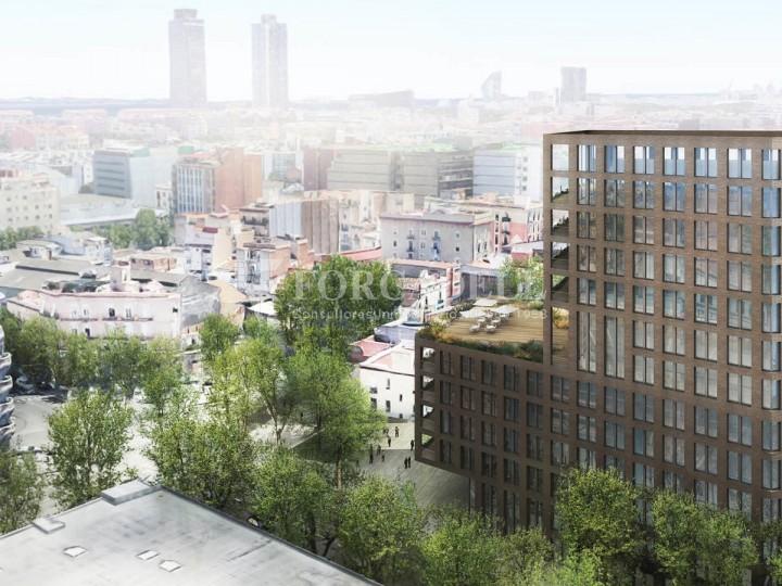 Excel·lent oficina en lloguer al districte de 22 @. Barcelona. 1
