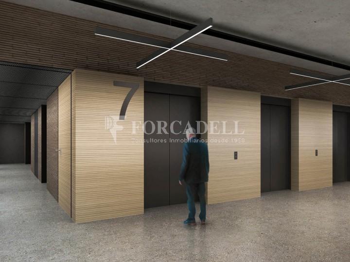 Excel·lent oficina en lloguer al districte de 22 @. Barcelona. 5