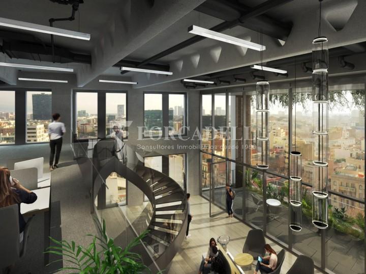 Excel·lent oficina en lloguer al districte de 22 @. Barcelona. 3