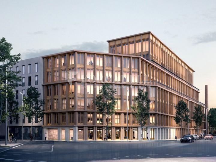 Edifici corporatiu en lloguer al districte de 22 @, carrer Pallars. Barcelona. 1