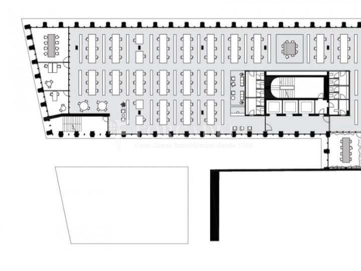 Edifici corporatiu en lloguer al districte de 22 @, carrer Pallars. Barcelona. 10