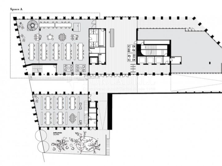 Edifici corporatiu en lloguer al districte de 22 @, carrer Pallars. Barcelona. 11