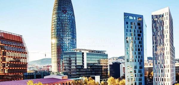 Edifici corporatiu en lloguer al districte de 22 @, carrer Pallars. Barcelona. 13