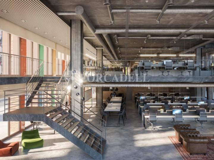 Edifici corporatiu en lloguer al districte de 22 @, carrer Pallars. Barcelona. 2