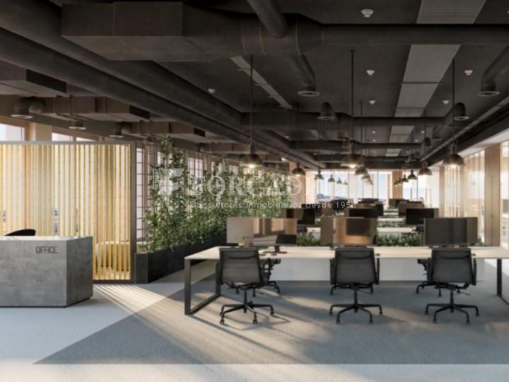 Edifici corporatiu en lloguer al districte de 22 @, carrer Pallars. Barcelona. 3