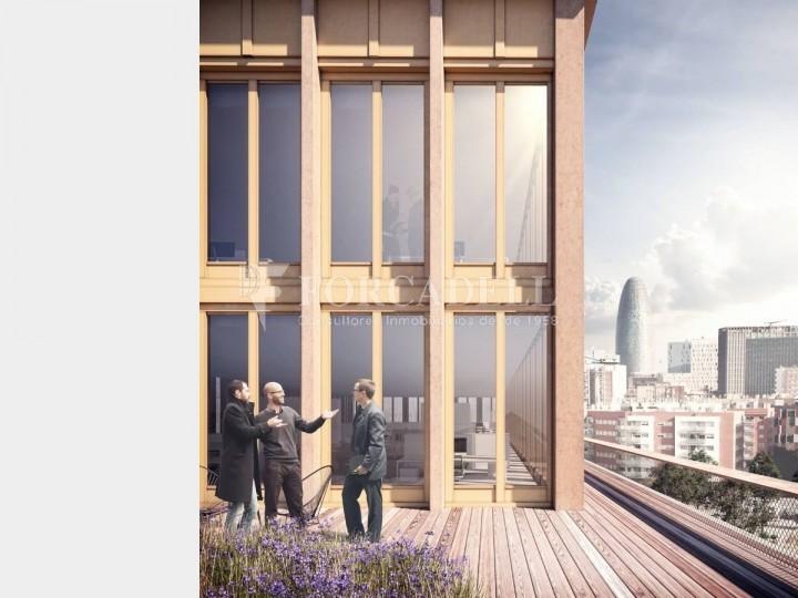 Edifici corporatiu en lloguer al districte de 22 @, carrer Pallars. Barcelona. 7