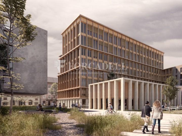 Edifici corporatiu en lloguer al districte de 22 @, carrer Pallars. Barcelona. 9