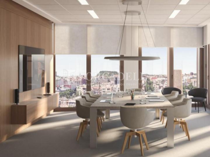 Oficina en lloguer al districte de 22 @, carrer Pallars. Barcelona. 4