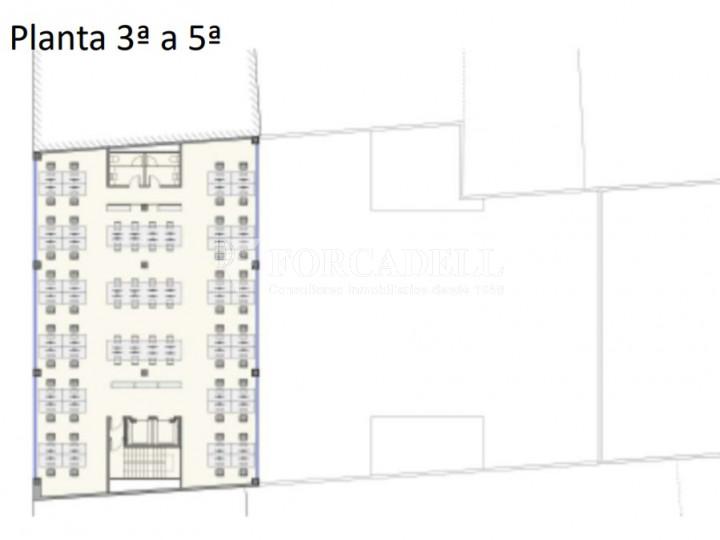 Edifici corporatiu en lloguer al districte de 22@. Barcelona. 9
