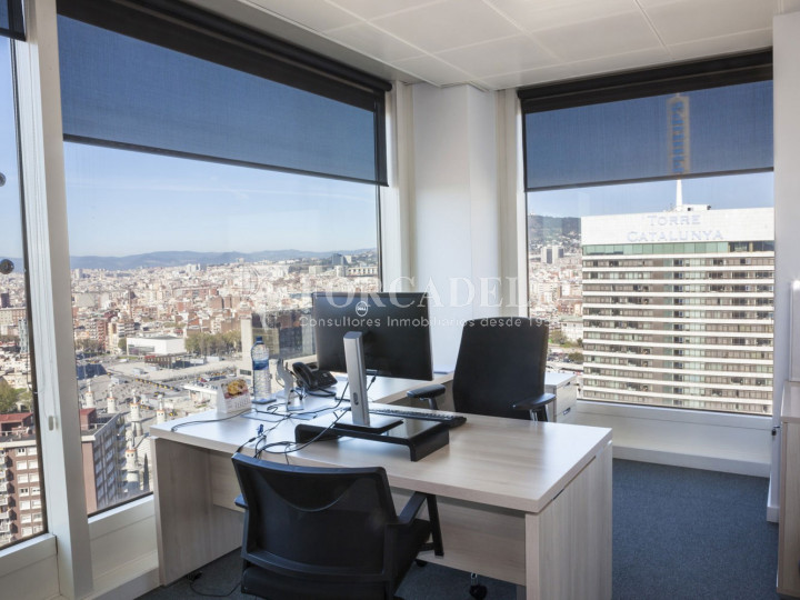 Oficina en lloguer a prop de l'estació de Sants. C. Tarragona 5