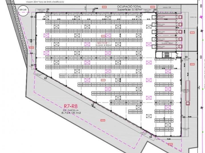 Nave logistica en alquiler de 5.260 m² - Sant Esteve Sesrovires, Barcelona 1