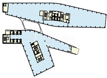 Oficina de lloguer al front marítim de Barcelona. Torre Marenostrum 8