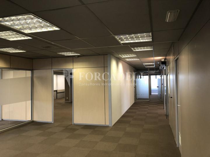 Oficina con vistas panorámicas en alquiler en la Torre d'Ara Premium. Mataró. 7