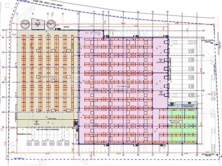 Nau logística en lloguer de 7.950 m² - Granollers, Barcelona 5
