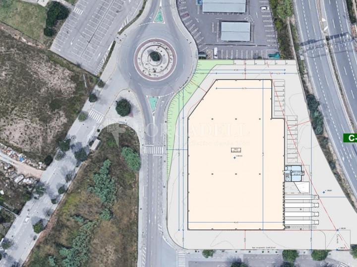 Nau logistica en lloguer de 4.420 m² - Les Franqueses de Vallès, Barcelona. 1