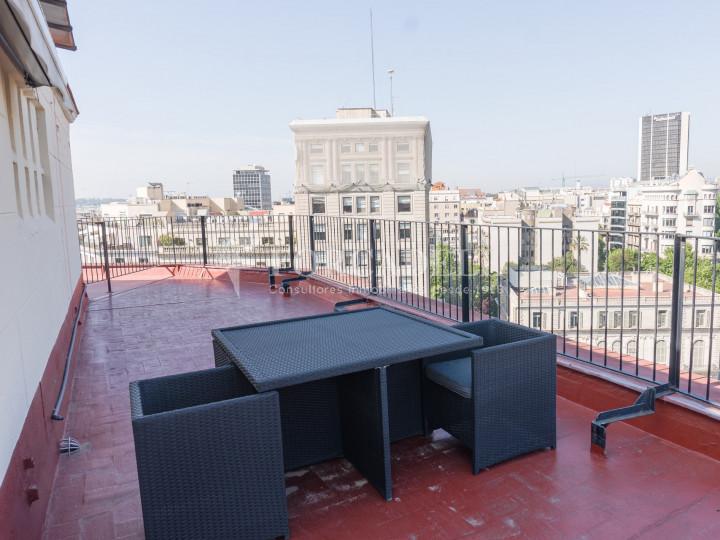 Oficina en lloguer a l'emblemàtic Passeig de Gràcia. Barcelona 1
