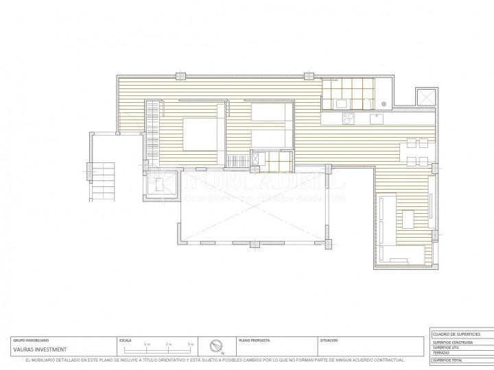 Habitatge d'obra nova, al costat del carrer Entença, al barri de la Nova Esquerra de l'Eixample de Barcelona. Ref. V21169 5