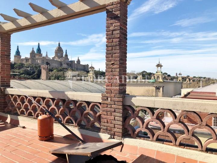 Àtic amb terrassa totalment reformat al barri del Poblesec, Barcelona 4