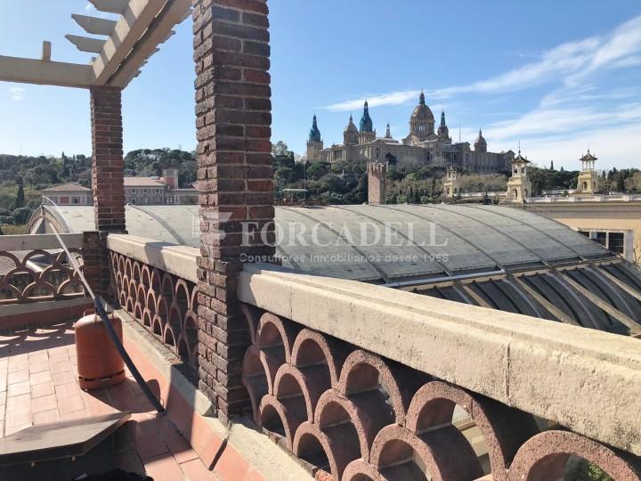 Àtic amb terrassa totalment reformat al barri del Poblesec, Barcelona 5