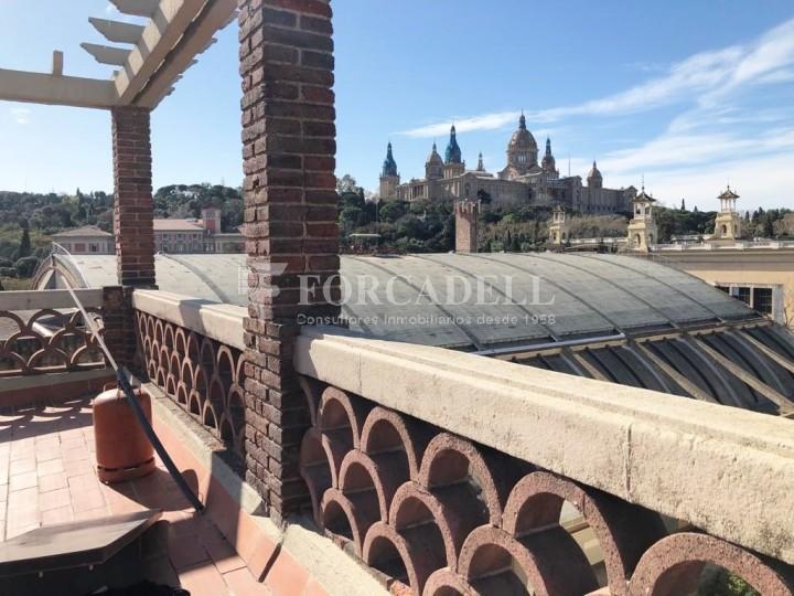 Àtic amb terrassa totalment reformat al barri del Poblesec, Barcelona 3